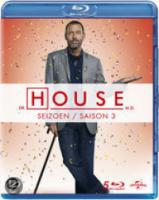 House M.D.  Seizoen 3 (Bluray)