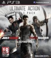 Ultimate Action Triple Pack (Tomb Raider | Just  Cause 2 | Sleeping Dogs)  PS3