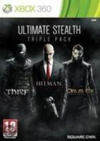 Ultimate Stealth Triple Pack (Thief | Hitman Absolution | DeusEx, Human Revolution)  Xbox 360