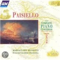 Paisiello: Complete Piano Concertos Vol 1 | Monetti