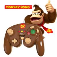 Wired Fight Pad Official Nintendo GC Controller  Donkey Kong (Wii U)