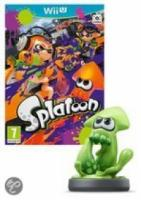 Splatoon + Inkling Squid Amiibo  Wii U