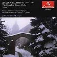Pachelbel: The Complete Organ Works Vol 1 | Payne