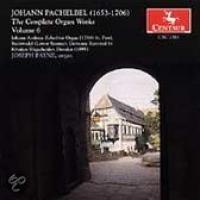 Pachelbel: The Complete Organ Works Vol 6 | Payne