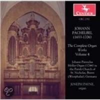 Pachelbel: The Complete Organ Works Vol 4 | Payne