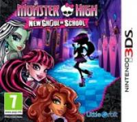 Monster High, New Ghoul In School  3DS