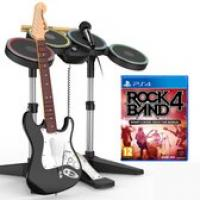 Rock Band 4 Band in a Box (Drum + Guitar + Microphone + Game)  PS4
