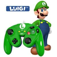 Wired Fight Pad WIIU Official Nintendo GC Controller  Luigi