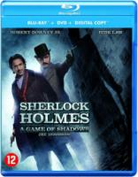 Sherlock Holmes 2: A Game of Shadows (Bluray+Dvd)