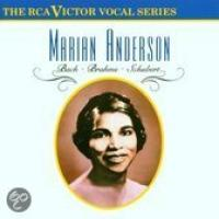 Vocal Series  Marian Anderson  Bach; Brahms etc