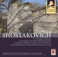 Symphony No. 13 In B Flat Minor Op. 113 'Babi Yar'