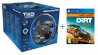 BUNDLE  T150 Racing Wheel Official Sony PS4 + DIRT RALLY