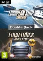 European Ship Simulator & Euro Truck Gold  Euro Simulator Double Pack  PC