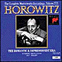 Horowitz Vol VIII  The Romantic & Impressionist Era