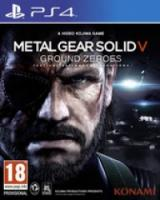 Metal Gear Solid: Ground Zeroes |PS4