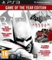 Batman: Arkham City  Game of the Year Edition |PS3