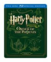 Harry Potter and the Order of the Phoenix (Bluray Steelbook)