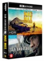 Mad Max Fury Road & San Andreas (4K Ultra HD Bluray)