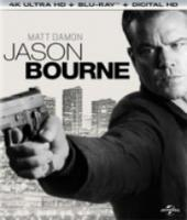 Jason Bourne (4K Ultra HD Bluray)