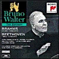 Bruno Walter Edition  Brahms: Double Concerto;  Beethoven