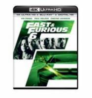 Fast & Furious 6 (4K Ultra HD Bluray)