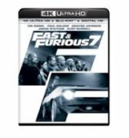 Fast & Furious 7 (4K Ultra HD Bluray)