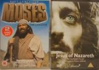 Jesus Of Nazareth|Moses The Lawgiver [UK IMPORT 3DVD]