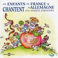 French And German Child Children Sing With