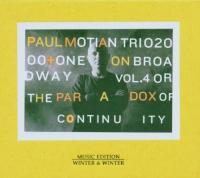 On Broadway Vol.4 Para Paradox Of Continuity