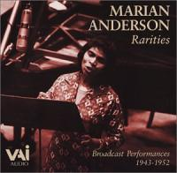 Marion Anderson Rarities