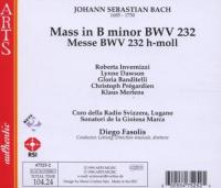 Bach: Mass in B minor | Diego Fasolis, et al