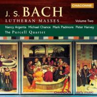 Bach: Lutheran Masses, Vol. 2 | Purcell Quartet