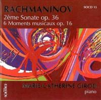 Rachmaninoff: Sonata No 2, Moments Musicaux | Girod