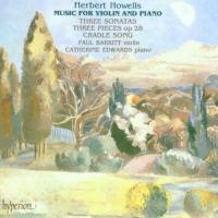 Howells: Music for Violin and Piano | Barritt, Edwards