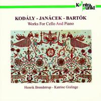 Kodaly: Works for Cello and Piano | Bredstrup, Gislinge