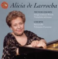 Mendelssohn: Songs without Words;  Chopin | de Larrocha