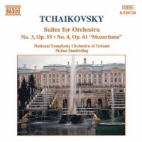 Tchaikovsky: Suites for Orchestra nos 3 & 4 | Sanderling