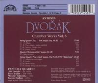 Dvorak: String Quartets No 11 & 12, Etc | Panocha Quartet