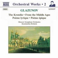 Glazunov: The Kremlin, From the Middle Ages, etc | Krimets