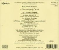 Britten: A Ceremony of Carols, etc | Westminister Cathedral