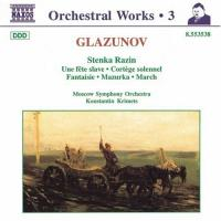 Glazunov: Complete Orchestral Works Vol 3 | Krimets, Moscow