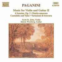 Paganini: Music for Violin and Guitar 2 | St. John, Wynberg