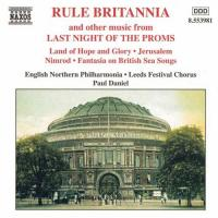 Rule Britannia  & other music from Last Night of the Proms