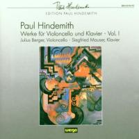 Hindemith: Works for Cello and Piano, Vol 1 | Berger, Mauser