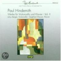 Hindemith: Works for Cello and Piano, Vol 2 | Berger, Mauser
