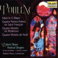Poulenc: Mass in G, etc | Shaw, Robert Shaw Festival Singers