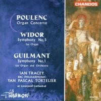 Poulenc: Organ Concerto; Widor, Guilmant | Tracey, Tortelier