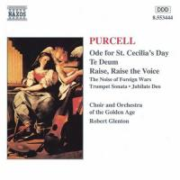 Purcell: Ode for St Cecilia's Day, etc | Glenton, Golden Age