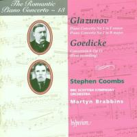 The Romantic Piano Concerto 13  Glazunov, Gedike | Brabbins