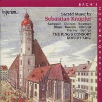 Bach's Contemporaries Vol 2  Sebastian Knupfer: Sacred Music